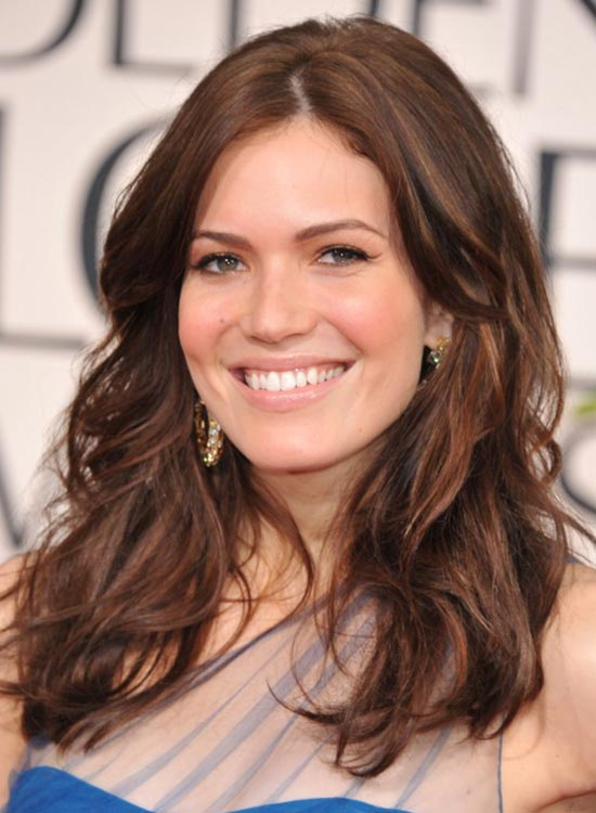 Mandy Moore Medium length wavy