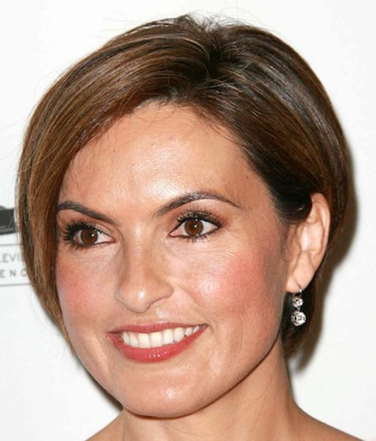 Mariska Hargitay Pixie Cut for Round Face