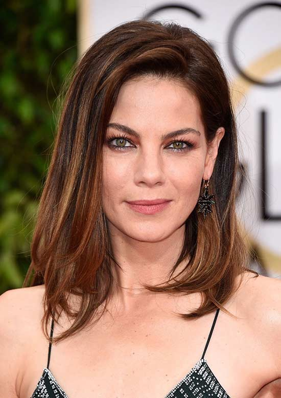 Michelle-Monaghan Short Brown Hairstyles