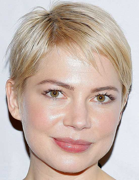 Michelle Williams Bob Hairstyles short hair