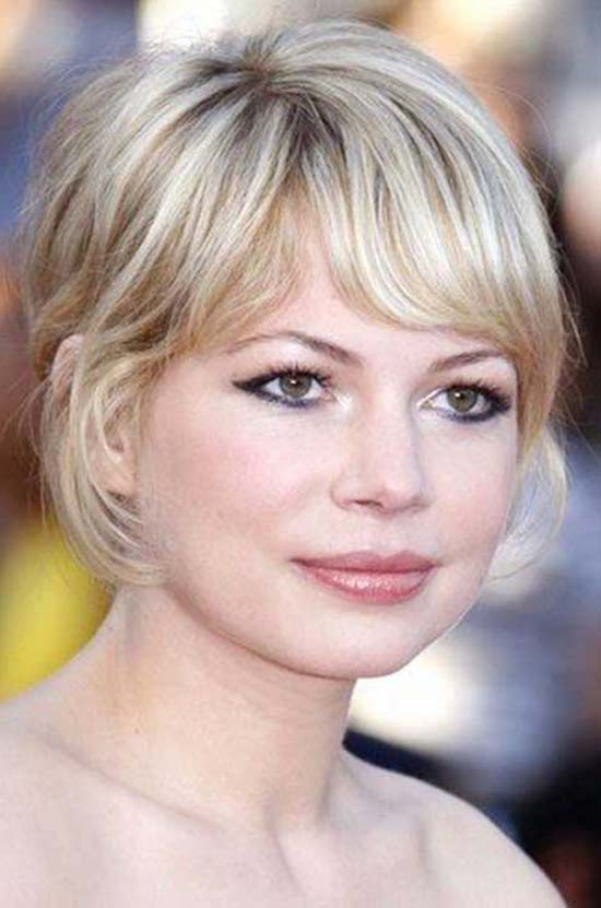 Michelle Williams Bob Hairstyles