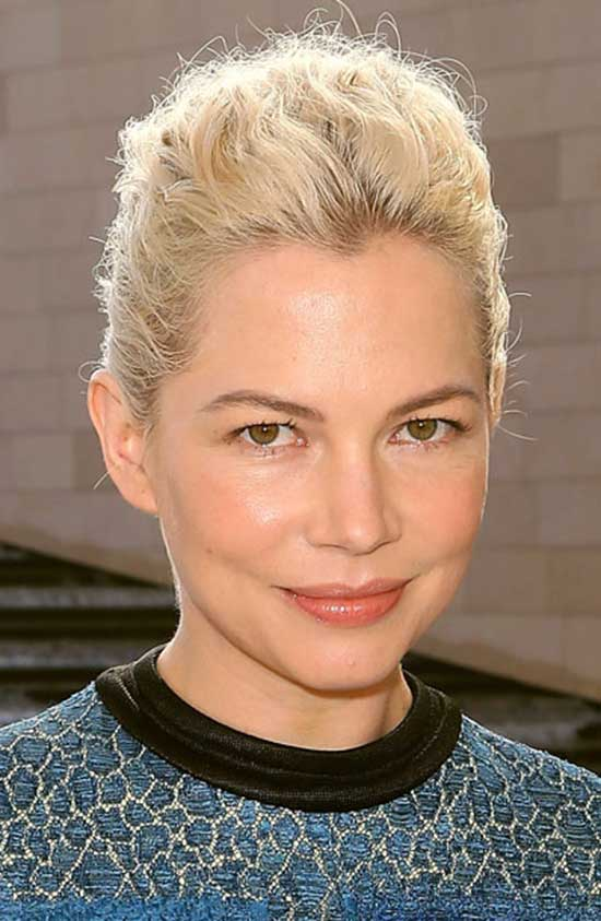 Michelle-Williams'-Undone-French-Twist