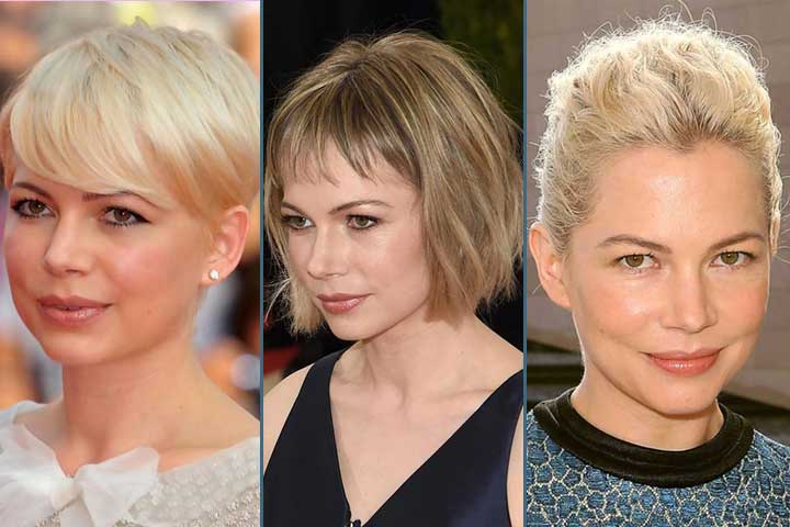 11 Awesome Michelle-Williams hairstyles & Haircuts To Inspire You !
