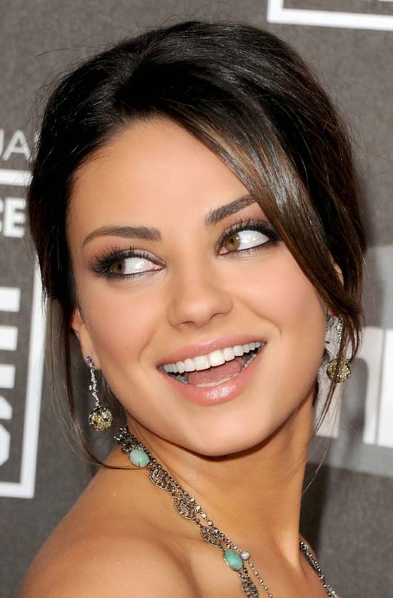 Mila Kunis Medium Length Thick Hair