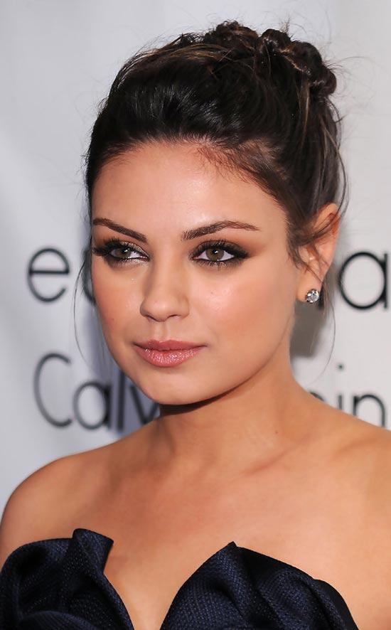 Mila Kunis Updos for Short Hair