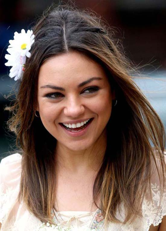 14 trendy mila kunis hairstyles for you try it today mila kunis long straight hair pmusecretfo Image collections