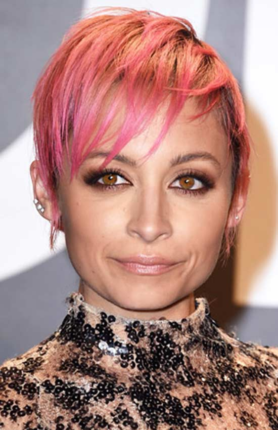 Nicole Richie Edgy Hairstyle