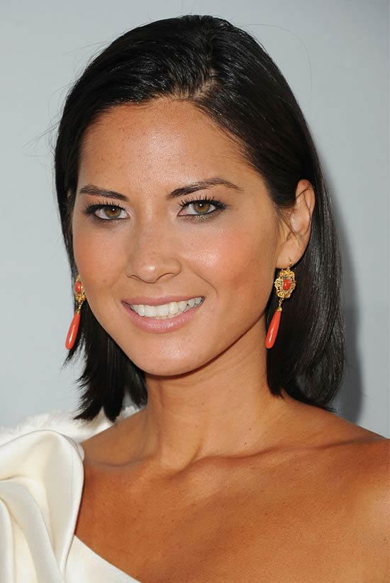 Olivia Munn Mid Length Haircut