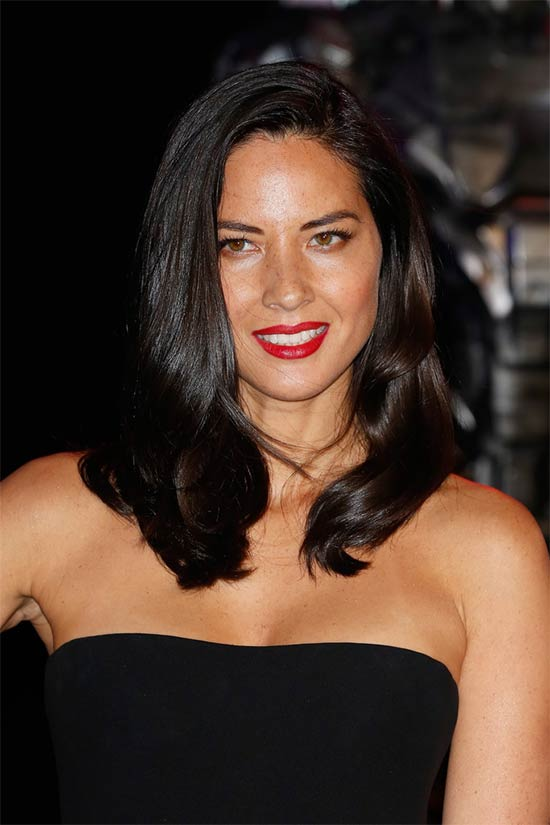 Olivia Munn Shoulder length hair