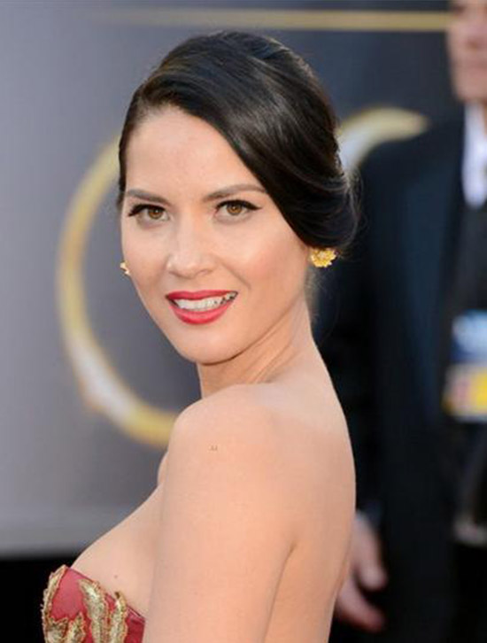 Olivia Munn Side View Hairstyles
