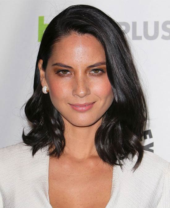 Olivia Munn Short hair with Bangs