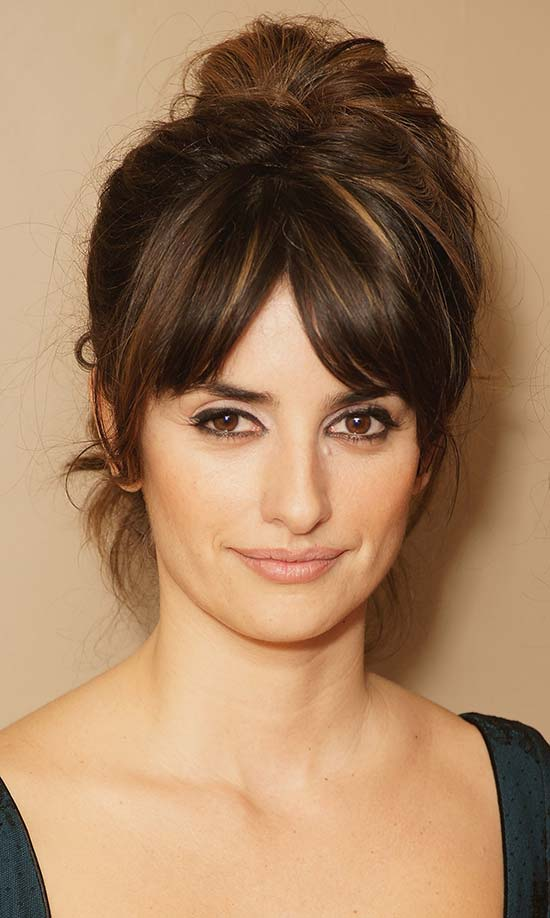 Penelope Cruz Short Layered Haircuts