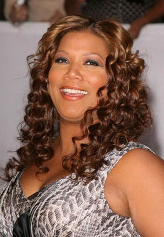 Queen Latifah Curly-Hairstyle