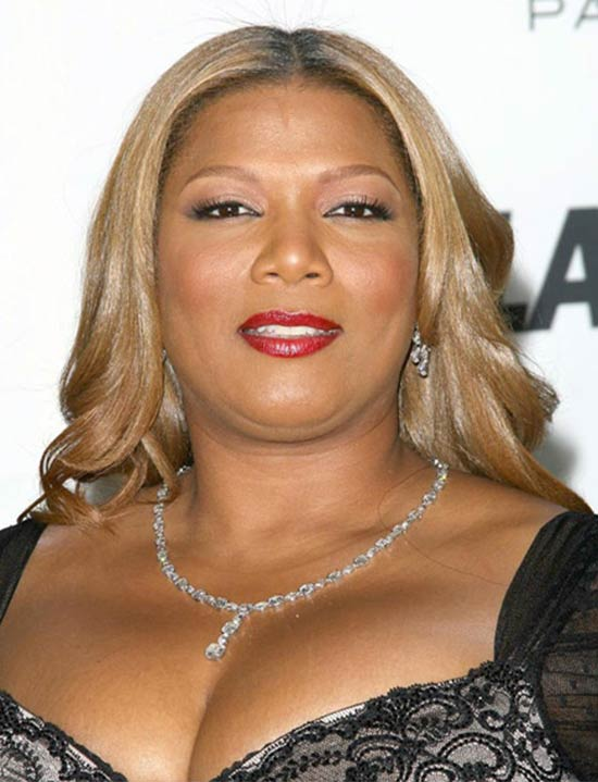 Queen Latifah Long-Wavy-Formal haircut