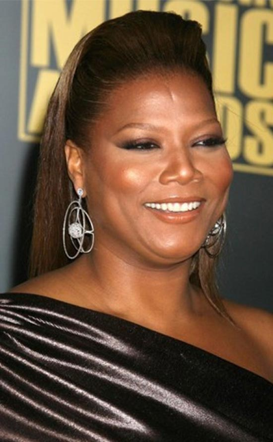 Queen Latifah Stylish Puff Hairstyle