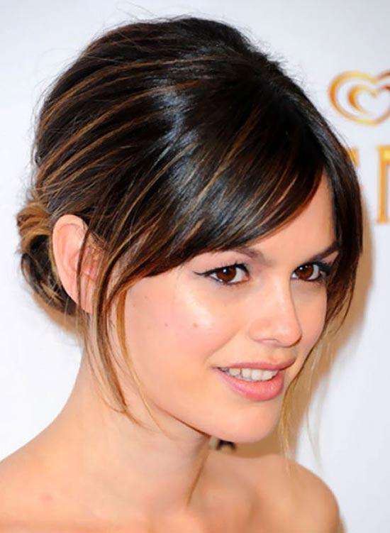 Rachel Bilson Updos for Short Hair
