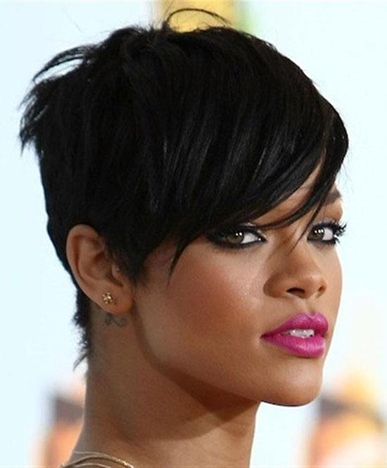 Rihanna Edgy-haircuts