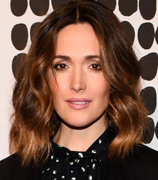 Rose-Byrne-Brunette Short Brown Hairstyles