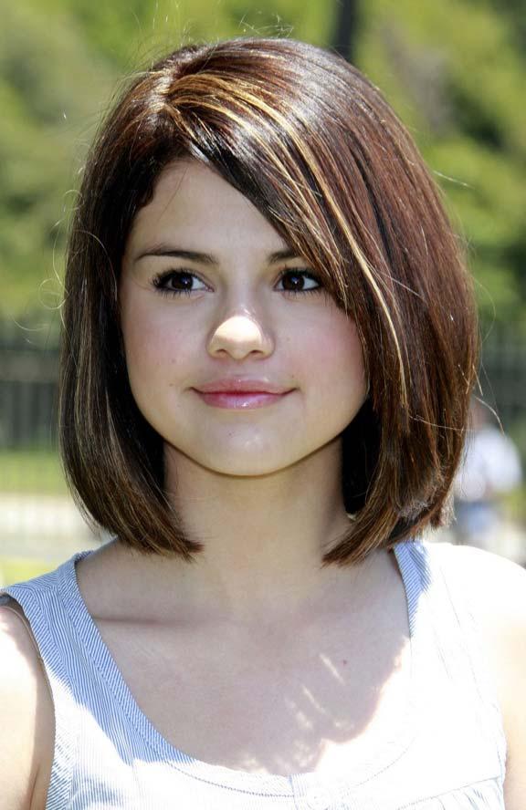 Selena Gomez bob haircut