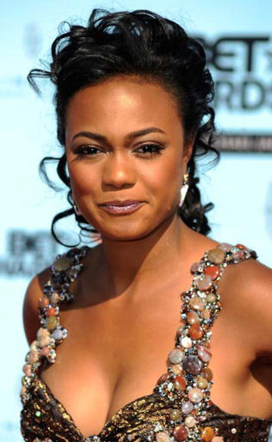 Tatyana ali natural hair