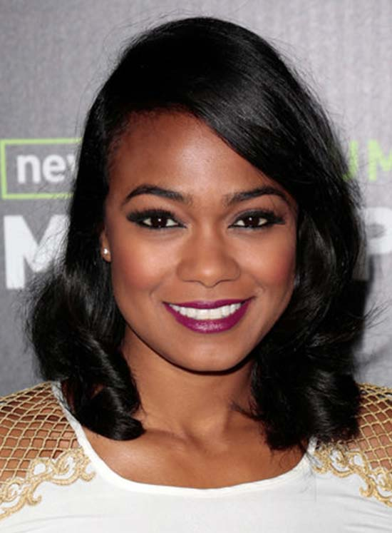 Tatyana Ali Loose Waves