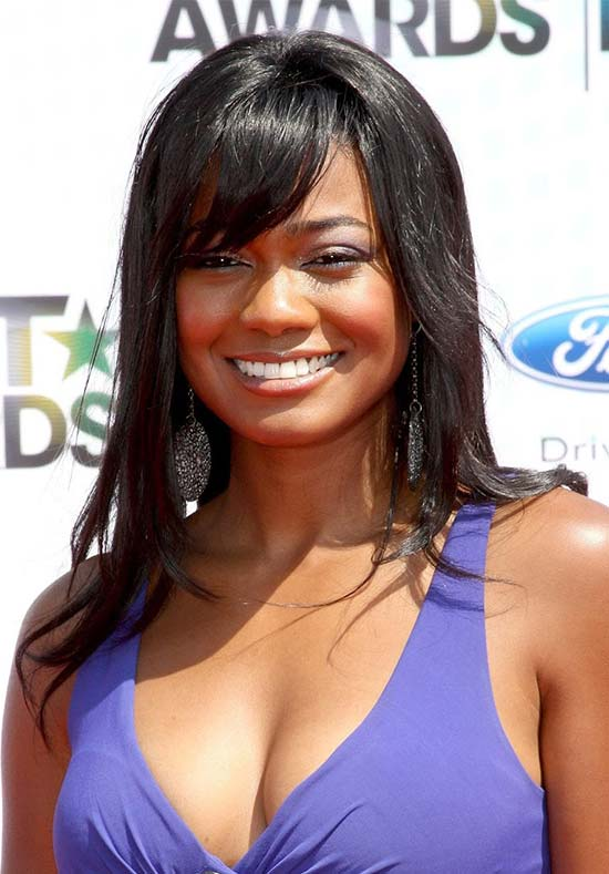 Tatyana Ali Long Straight Hair