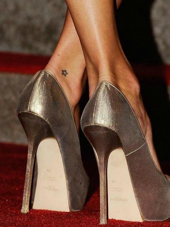 Tiny Star Tattoo Design