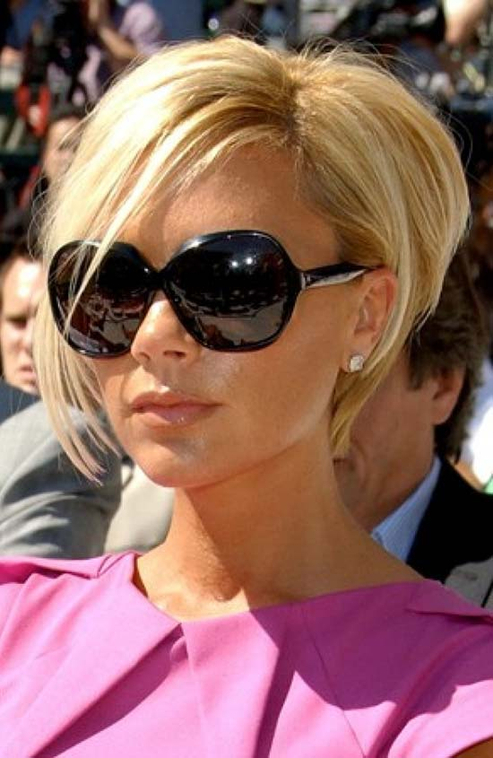 Victoria Beckham Edgy Hairstyle