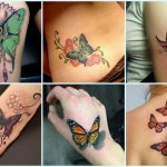 50 Gorgeous Butterfly Tattoos and Their Meanings You'll Definitely Love