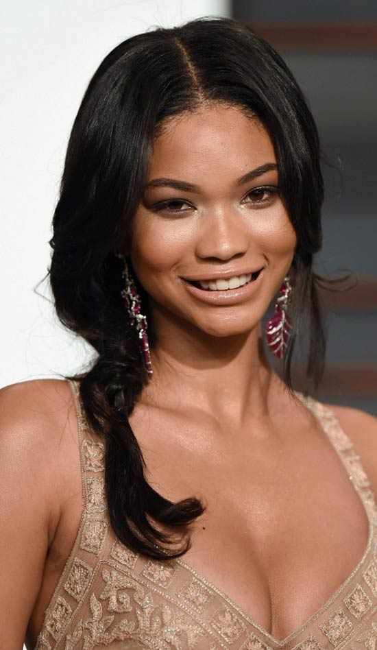 chanel iman Wedding Hairstyles