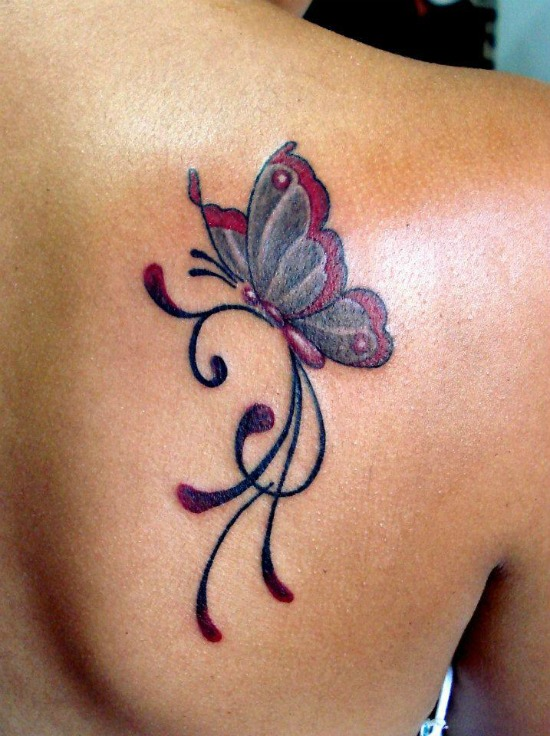 50 gorgeous butterfly tattoos and their meanings you 39 ll definitely love. Black Bedroom Furniture Sets. Home Design Ideas