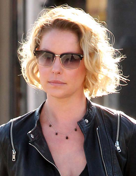 katherine heigl chooped hair into pixie