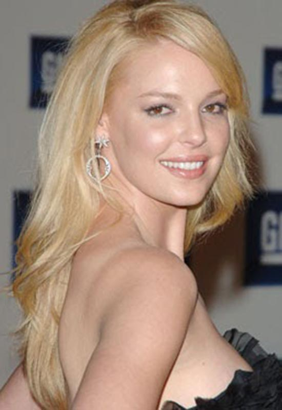 katherine heigl long straight hair
