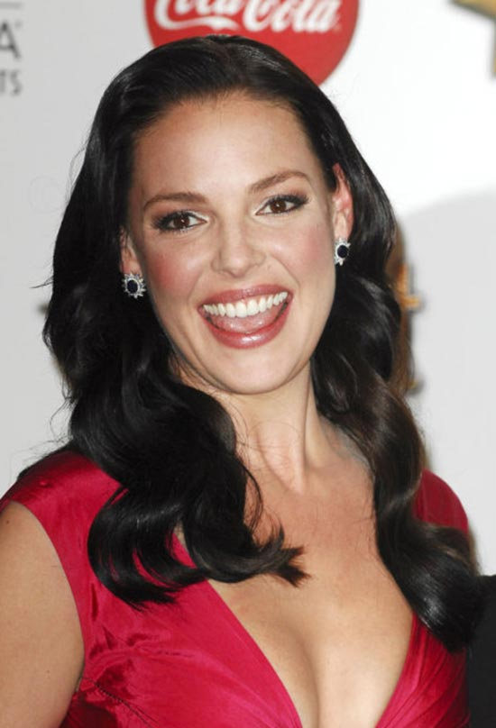 katherine heigl with Black hair