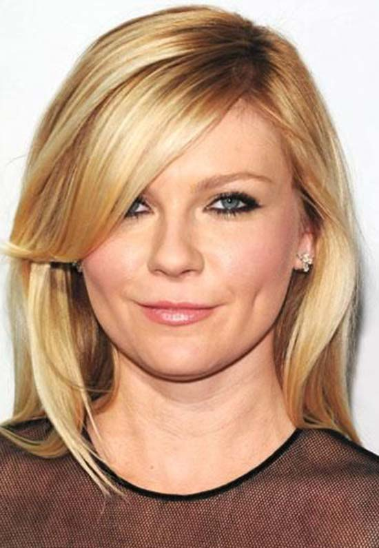 kirsten dunst short Layered hairstyle