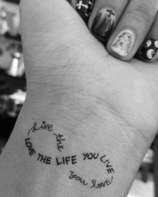 love the life you live and live the life you love