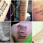 50 Inspirational Quote Tattoos Would Definitely Want To Get Inked