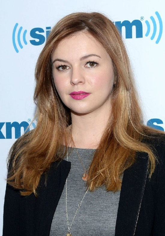 Amber Tamblyn Long Blonde Hair