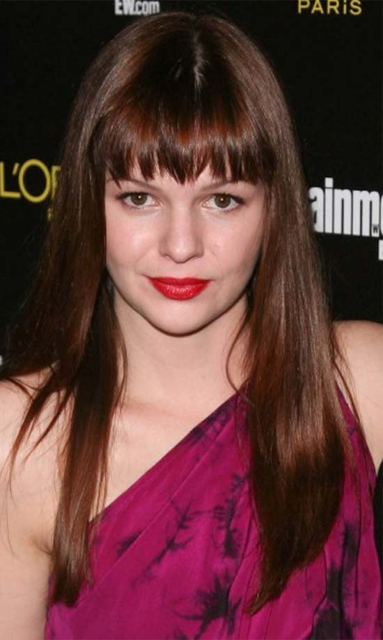 Amber Tamblyn Long-Smooth Haircut
