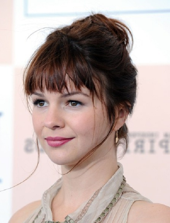 Amber Tamblyn Updo Hairstyle