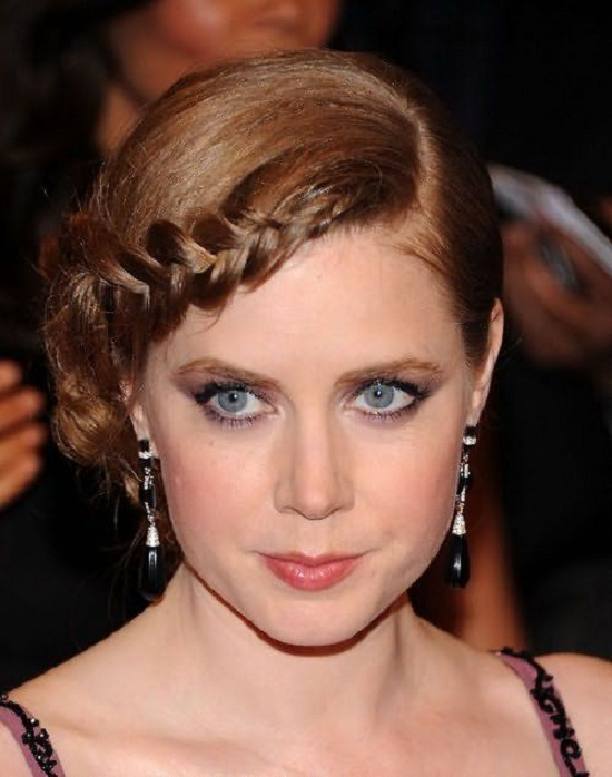 Amy Adams Braided Updo