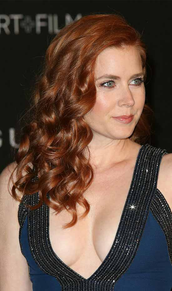 Amy Adams Long Curly Hair