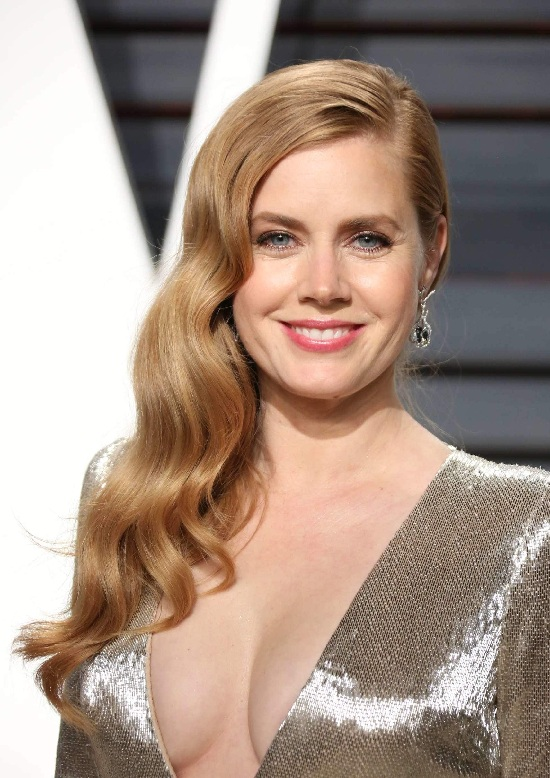 Amy Adams Long Waves Hair