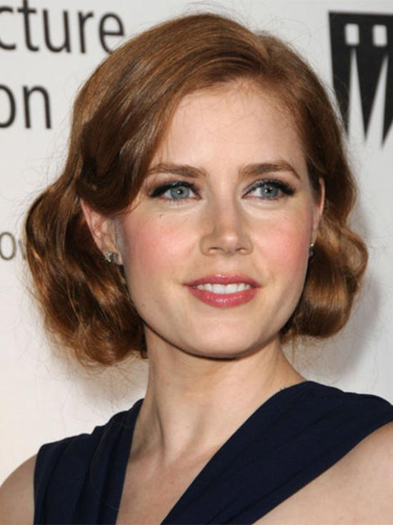 Amy Adams Short Hairstyle