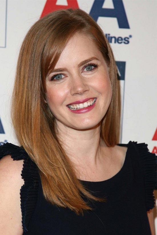 Amy Adams Shoulder Length Hairstyle