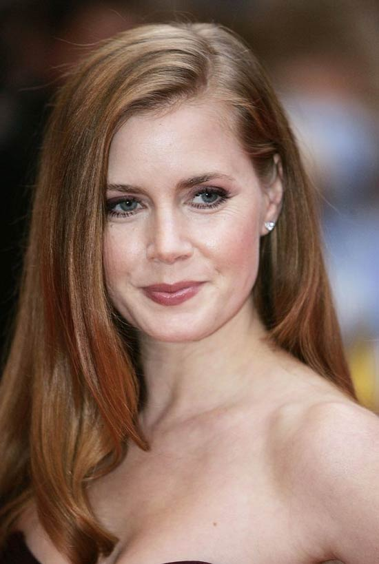 Amy Adams long straight hair