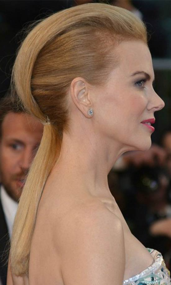 Amy Adams mohawk hairstyle