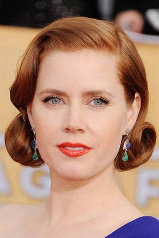 Amy Adams vintage bob hairstyle