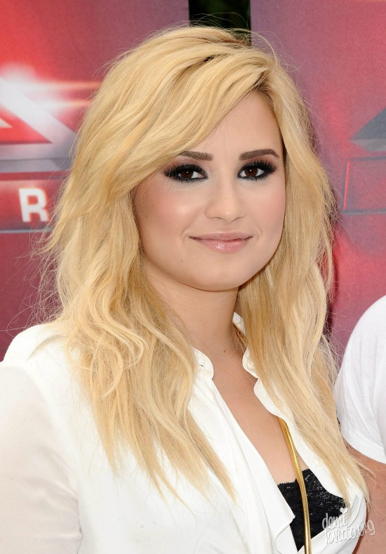 Demi Lovato Blonde Hair