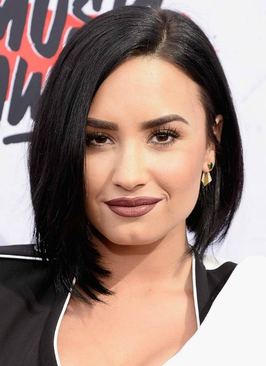 Demi Lovato Bob Haircut